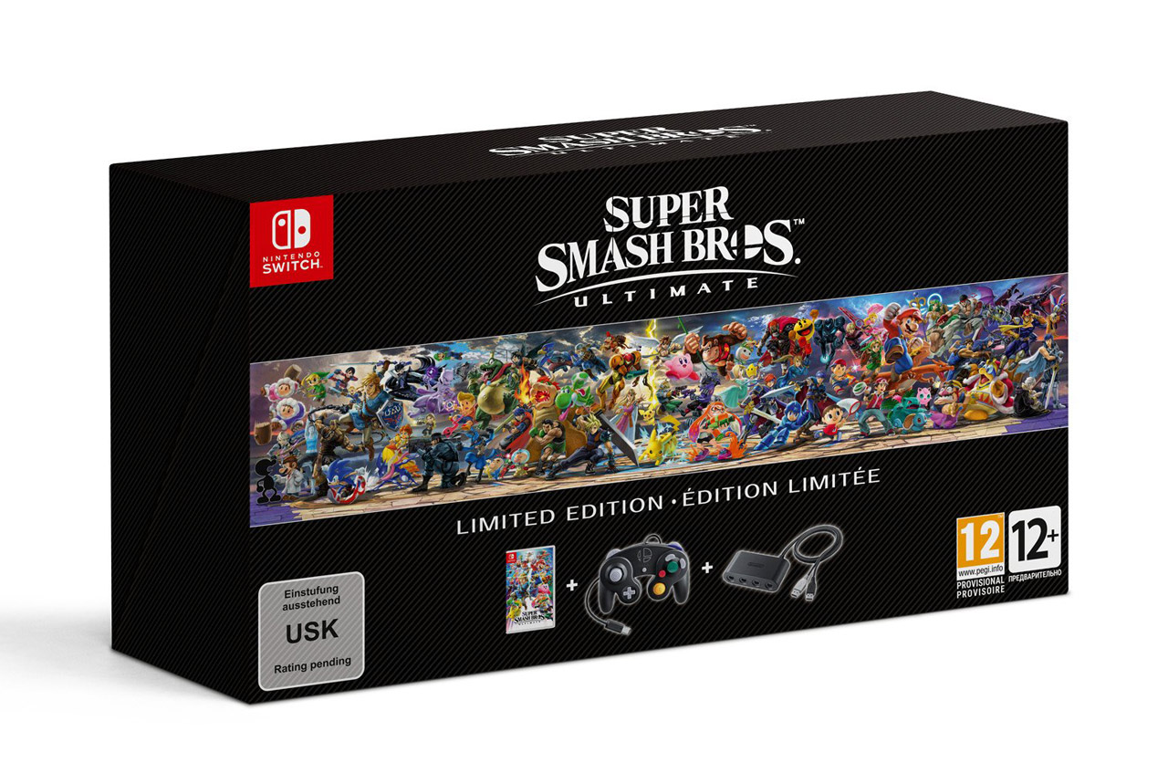 Coffret Super Smash Bros Ultimate