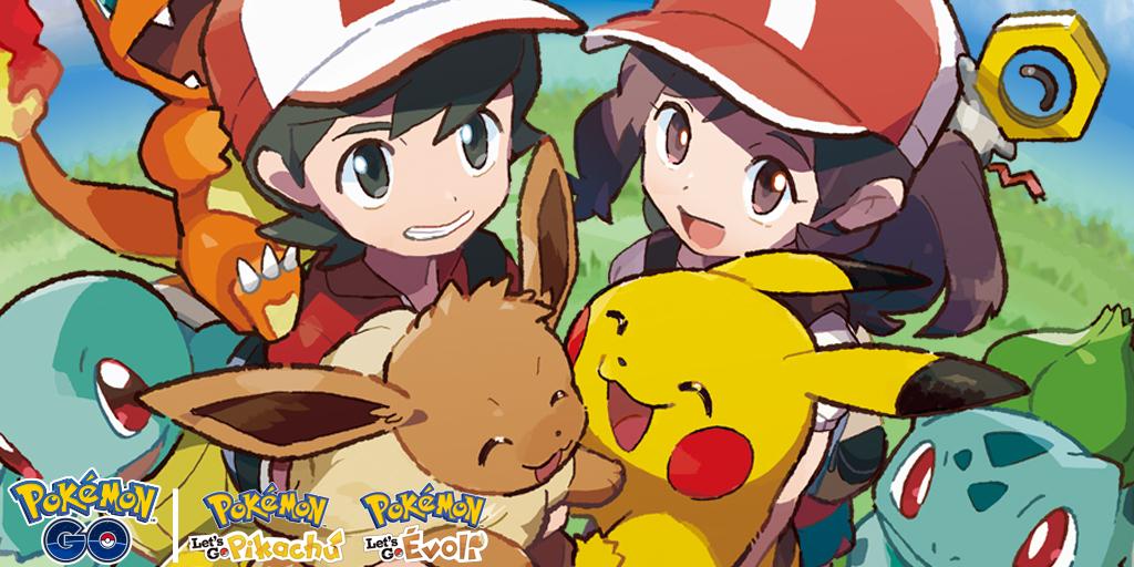 Celebration Pokemon let's Go
