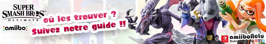 Où trouver les nouvelles figurines amiibo. Suivez notre guide