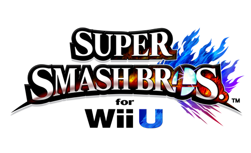 Logo du jeu Super Smash Bros. Wii U