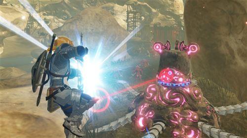 Image issue du jeu Hyrule Warriors l'ère du fléau