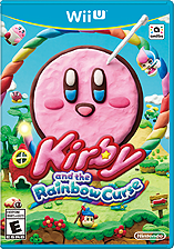 Jaquette du jeu Kirby and the Rainbow Curse