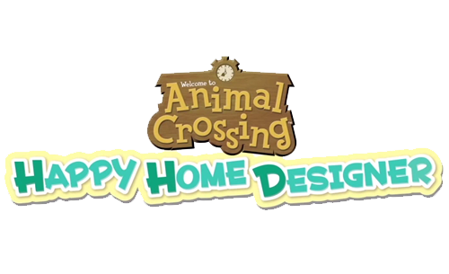 Logo du jeu Animal Crossing: Happy Home Designer
