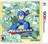 Jaquette du jeu Mega Man Legacy Collection