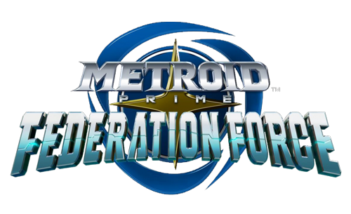 Logo du jeu Metroid prime Federation Force
