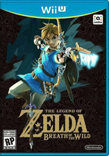 Jaquette du jeu The Legend of Zelda, Breath of the Wild