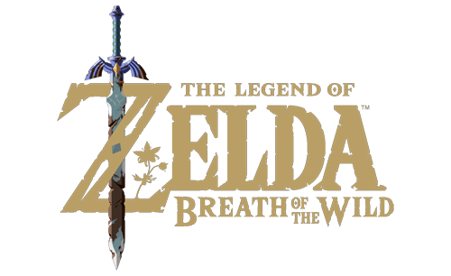 Logo du jeu The Legend of Zelda, Breath of the Wild
