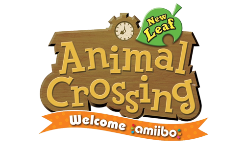Logo du jeu Animal Crossing New Leaf - Welcome amiibo