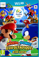 Jaquette du jeu Mario & Sonic at the Rio 2016 Olympic Games