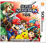 Jaquette du jeu Super Smash Bros 3DS