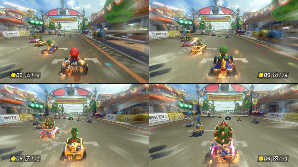 Mario Kart 8 deluxe version Nintendo Switch