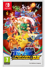 Jaquette du jeu Pokken Tournament Deluxe
