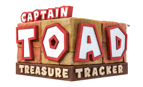 Logo du jeu Captain Toad Treasure Tracker