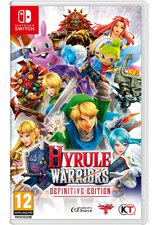 Jaquette du jeu Hyrule Warriors : Definitive Edition