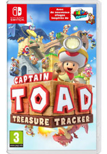 Jaquette du jeu Captain Toad: Treasure Tracker Nintendo Switch