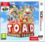 Jaquette du jeu Captain Toad: Treasure Tracker Nintendo 3ds