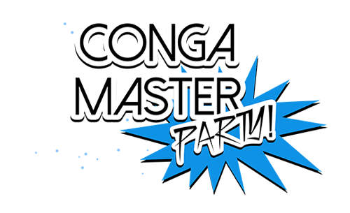 Logo du jeu Conga Master Party !